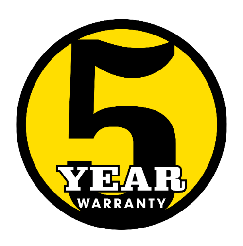 Compact Excavator 5 Year Warranty