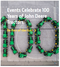 Celebrate John Deere Tractors at 100 in Waterloo