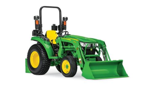Rugged, Heavy-Duty 3D Series Compact Utility Tractors
