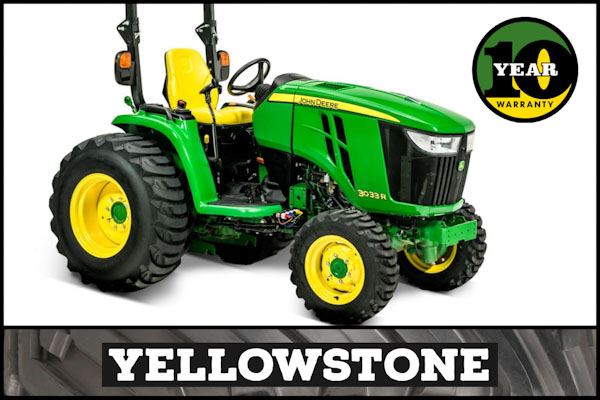 3033R Tractor | Yellowstone Package